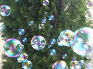 a bubble armada