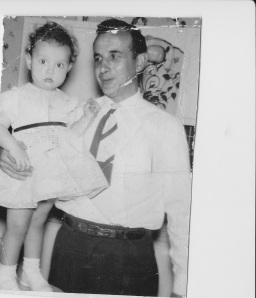 Me and my dad, 1954